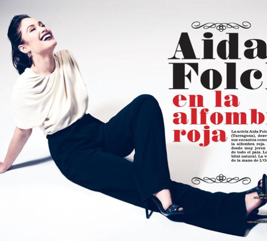 01 aida folch en la alfombra roja - lifestyle - la razon